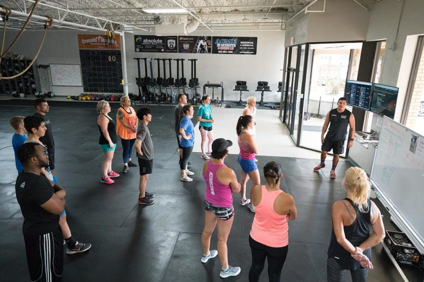 Crossfit Coach Coaching