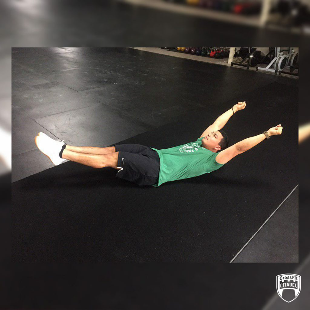 Hollow Hold Pull-Up Progression