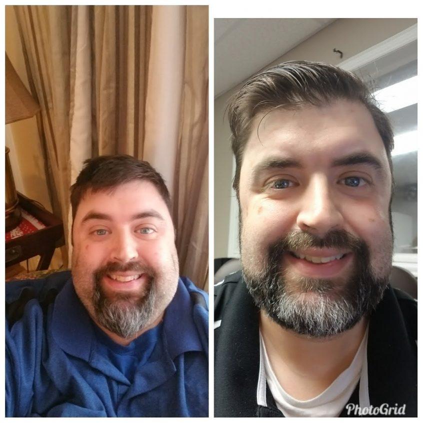 man comparison